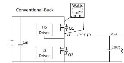 vicor的zvs-buck的简易电路如图五所示,详细工作波形见图6.