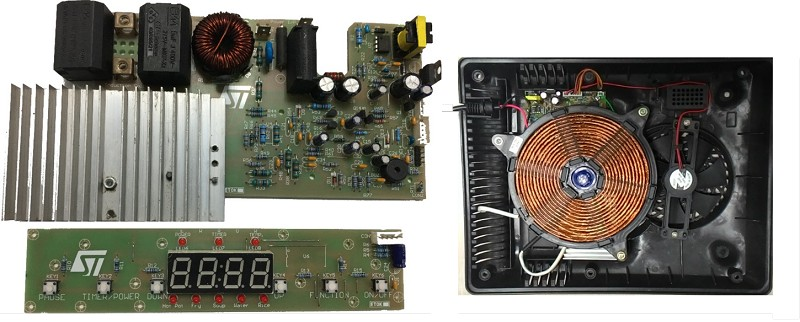 8kw准谐振电磁炉系统采用了两个意法半导体晶片:stgwt20ih125df—