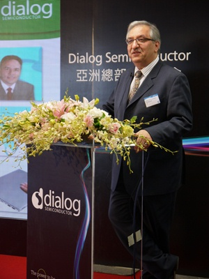 Dialog Semiconductor 執行長Jalal Bagherli。攝影/劉佳惠