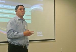 Dialog電源轉換事業部資深副總裁Davin Lee(攝影:姚嘉洋)