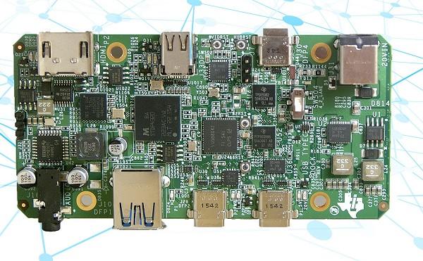德州仪器全新usb type-c扩充基座系统参考设计大幅缩小尺寸